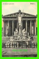 WIEN, AUTRICHE - PARLAMENTS-BRUNNEN - ANIMATED - P. LEDERMANN - - Vienne