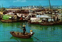 ! Ansichtskarte 1967 Hongkong, Hong Kong, Causeway Bay, Harbour - Chine (Hong Kong)
