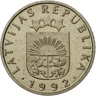 Monnaie, Latvia, 50 Santimu, 1992, SUP, Copper-nickel, KM:13 - Lettonie