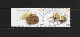O) 2010 SLOVENIA, FOOD -CULINARY ART -TYPICAL DISH. MNH - Slovenia