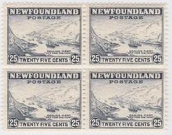 Newfoundland        .   SG   .     219    Bloc Of 4         .      **      . Postfris     .   /   .  MNH - Newfoundland
