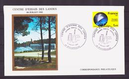 ESPACE - 1981/07 - Journée Portes Ouvertes à Biscarosse - CEL - 2 Documents - Space