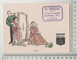 BUVARD BOUSSAC Tampon AU TROUSSEAU Lillebonne - Textile & Clothing