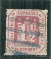 ALLEMAGNE - HAMBURG   --  1,5  Rouge  -- N°22  - Côte 65€ - Hamburg