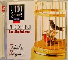 LA BOHEME, Puccini. Tébaldi, Bergonzi. (Extraits) 1960. 1Cd. Decca 1996. - Opera