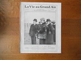 LA VIE AU GRAND AIR N°549 DU 27 MARS 1909 LES CANOTS DE MONACO,LE TOURNOI DE TENNIS DE NICE,LES BOXEURS AMERICAINS,WRIGH - Livres, BD, Revues