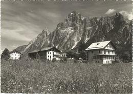 X4054 Borca Di Cadore (Belluno) - Villanova - Cima Marcora - Panorama / Viaggiata 1956 - Altre Città