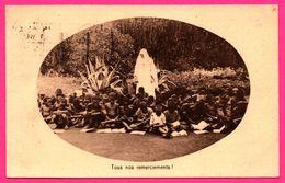 Tous Nos Remerciements - Issavi - Une Des Classes De Garçons - Ardoises - Enfants - 1931 - Oeuvre Des Missionnaires - Ruanda-Urundi