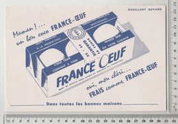 BUVARD FRANCE OEUF - Alimentaire