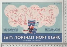 BUVARD LAIT ET TONIMALT MONT BLANC - Produits Laitiers