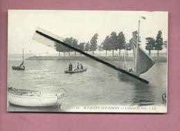 CPA -  St Valéry Sur Somme  - L'entrée Du Port  -(bateau , Bateaux) - Saint Valery Sur Somme