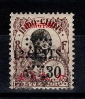 """MongTzeu - RARE YV 59 PERFORE """"BIC"""" (Banque D'Indochine) - Mong-tzeu (1906-1922)"""
