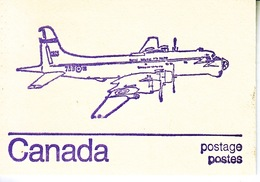 CANADA BOOKLET  AEROPLANE  ** 2 Scans - Full Booklets