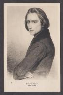91448/ Franz LISZT, Compositeur, Transcripteur Et Pianiste Virtuose - Singers & Musicians