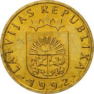 Monnaie, Latvia, 10 Santimu, 1992, TTB, Nickel-brass, KM:17 - Lettonie