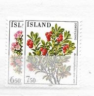 1984 MNH Iceland, Michel 619-20 Postfris** - 1944-... Republique