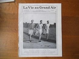 LA VIE AU GRAND AIR N°559 DU 5 JUIN 1909 JEAN BOUIN,LA COURSE PARIS-BRUXELLES,FRIOL TRIOPHE A BUFFALO,LE TROPHEE DE FRAN - 1900 - 1949