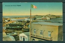 "Libye Ca. 1910 - Carte Postale Tripoli ""vue Sur Le Port"" - Libye"