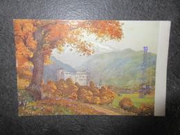 CPA N° 49 - Schloss Kaprun Avec Le Tampon Hotel Kesselfall-Alpenhaus Au Verso - Kaprun