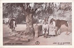 SIERRAS DE CORDOBA. JOSE DE LA QUINTANA. F.C.C.A. ESTANCIA SAN JOSE. CIRCA 1935 TIPICAL RURAL SCENE. TBE-  BLEUP - Argentine