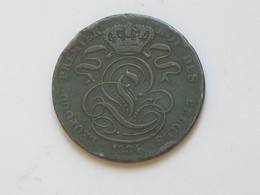 5 Centimes 1834 - Belgique - Léopold Premier 1er  Roi Des Belges   **** EN ACHAT IMMEDIAT **** - 1831-1865: Léopold I.