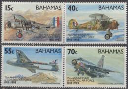 BAHAMAS - 75e Anniversaire De La RAF - Bahamas (1973-...)