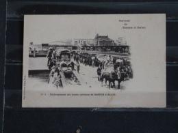 Z25 - Souvenir De Barnum Et Bailey - No 3 - Dechargement Des Tains Speciaux De Barnum Et Bailey - Circus
