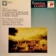 PUCCINI. Airs D'Opéra. Kanawa, Scotto, Pavarotti. 19 Titres 1 Cd Sony. 1990. - Opera
