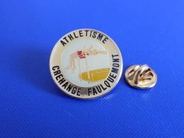 Pin's Saut En Hauteur - Crehange Faulquemont - Course à Pied Athlétisme (PE49) - Athletics