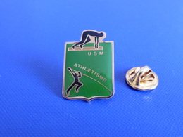 Pin's USM - Course à Pied Athlétisme (PE51) - Athletics