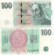 Czech. Republic   Newly Issued 100 Kroner. 2018.  UNC - República Checa