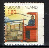 FINLANDIA - 1988 - TRASPORTI POSTALI - USATO - Finnland