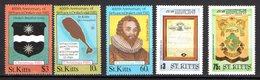 St Kitts Scott N°173.174.176.172.170.neufs** - St.Kitts-et-Nevis ( 1983-...)
