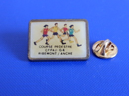 Pin's Course Pédestre - CFPAJ G4 - Ribemont Ancre - Course à Pied Athlétisme (PE66) - Athletics