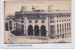 ALGER. L'HOTEL DES POSTES ET TELEGRAPHES. COLLECTION IDEALE PS. CIRCA 1900's-  BLEUP - Alger