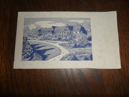 ANCIEN BUVARD / PAYSAGE ANONYME - Stationeries (flat Articles)