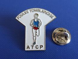 Pin's Foulée Tomblainoise - ATCP - Course à Pied Athlétisme (PE81) - Athletics
