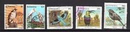 Botswana Scott N° 310.311.631.624.627.oblitérés - Botswana (1966-...)