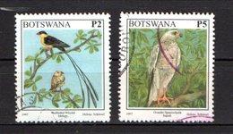 Botswana Scott N° 634.636..oblitérés   636 Légérement Chiffoné En Bas - Botswana (1966-...)