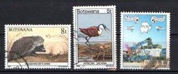 Botswana Scott N° 410.202.643.oblitérés - Botswana (1966-...)
