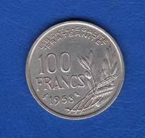 100 Fr  1958  Chouétte - France