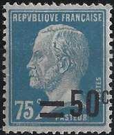 FRANCE Pasteur 1926 N°219**, Beau Décalage De Surcharge, Très Frais ! - Variedades Y Curiosidades