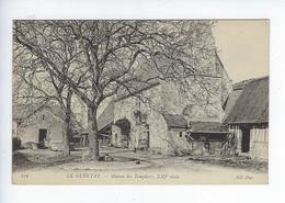 CPA Environs De Rouen Saint Martin De Boscherville Le Genetay Maison Des Templiers 259 - Rouen