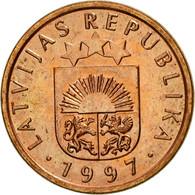 Monnaie, Latvia, Santims, 1997, TTB, Copper Clad Steel, KM:15 - Lettonie