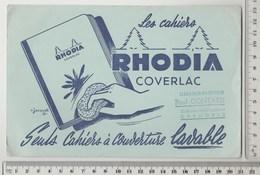 BUVARD CAHIERS RODHIA - Stationeries (flat Articles)