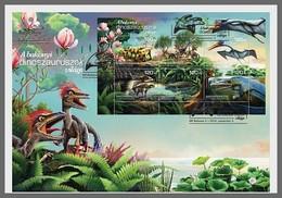 H01 Hungary 2018 Bakony Dinosaurs MNH Postfrisch FDC - Hongrie