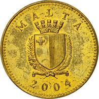 Monnaie, Malte, Cent, 2004, British Royal Mint, TTB, Nickel-brass, KM:93 - Malta