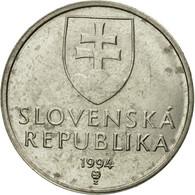 Monnaie, Slovaquie, 5 Koruna, 1994, TTB, Nickel Plated Steel, KM:14 - Slovaquie