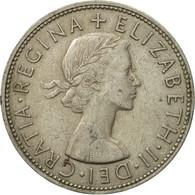Monnaie, Grande-Bretagne, Elizabeth II, 1/2 Crown, 1963, TTB, Copper-nickel - 1902-1971 : Monnaies Post-Victoriennes