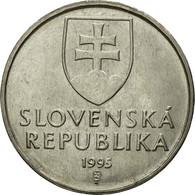 Monnaie, Slovaquie, 2 Koruna, 1995, TTB, Nickel Plated Steel, KM:13 - Slovaquie